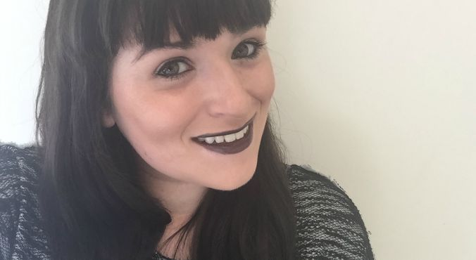 W7 Liptember Lipstick in Black. First time I've ever worn a black lipstick!
